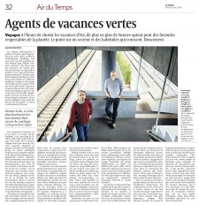 Le Temps, 2 March 2010