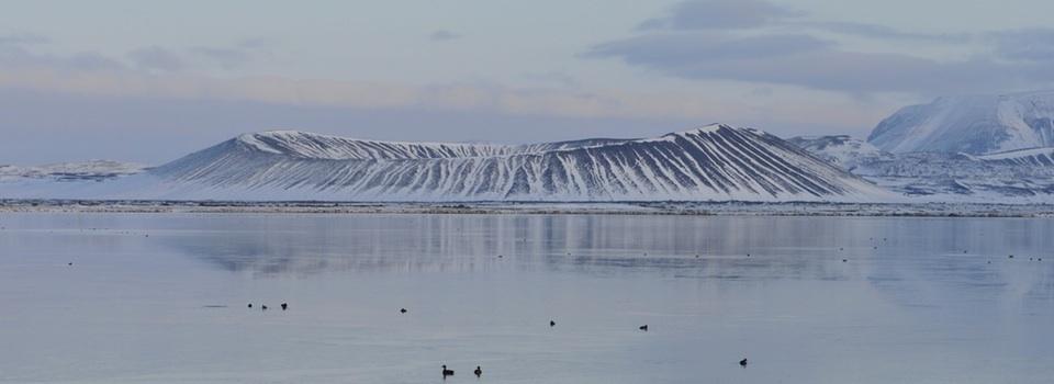 Islande - Lake Mývatn: Elements and culture, the trek