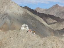 Tsemo village & monastery