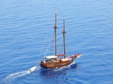 The schooner Santa Barbara