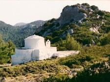 A chapel in the mountain