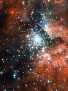 Open star cluster NGC 3603
