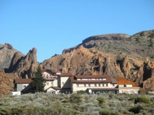 The Parador hotel in the Teide caldeira