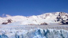 The crenellated surface of Perito Moreno Glacier (Argentina)