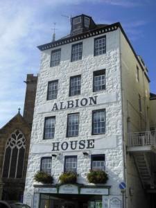 Guernsey – A house in Saint Peter Port