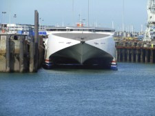 Guernsey – A ferry operating the islands
