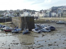 Guernsey – Saint Peter Port at low tide