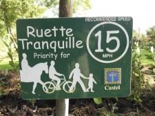 "Guernsey – A ""Ruette Tranquille"", a little road to walk or bike"