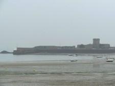 Jersey – Saint Helier's beach at low tide