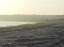 Jersey – A beach at low tide, ideal for a nice walk