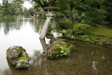 The Kenroku-en garden in Kanazawa