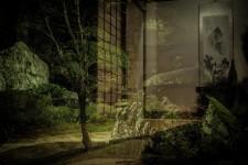 A samurai house garden
