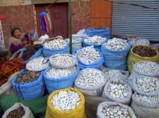 A market in La Paz
