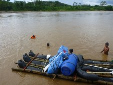 Rafting Extension – One of our rafts