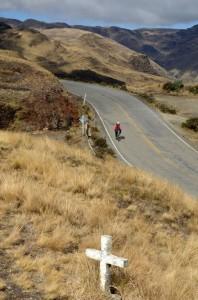 Descent into Sorata Valley
