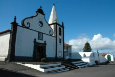 Another typical black and white church, here on the north coast