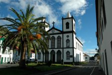 The church of Lajes