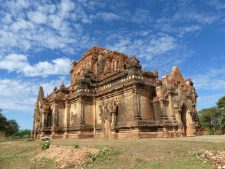 A temple in Bagan