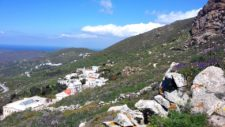A typical view of Tinos from which exudes a perfume of harmony