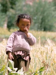 Young Ladakh girl