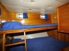 Cabin of the schooner Pallas