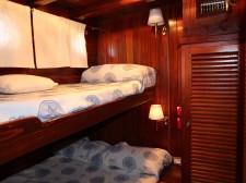 Cabin of the schooner Santa Barbara