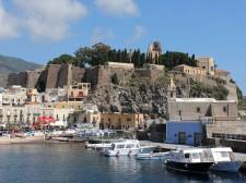 The small town of Lipari