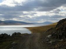 White Terkh lake, Terkhin Tsagaan Nuur region