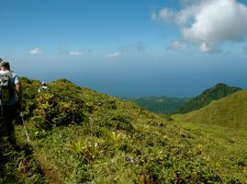 Hiking the Mount Pelée, Martinique