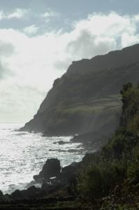 The abrupt Southeast coast