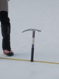 An ice pick that has made a number of summits !