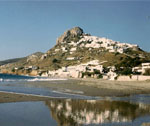 Along the coast of Skyros