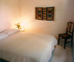 One of the rooms at Pension Karina