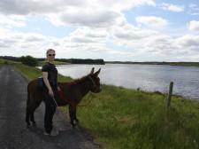 A stop along Lough Attorick