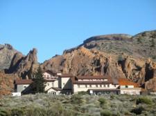 The Parador hotel in the Teide caldeira