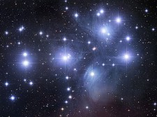 Twinkling Pleiades