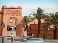 A square in Ouarzazate