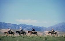 Start of the trek on the Silk Road
