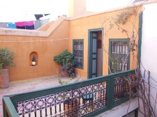 Room on the roof of the riad