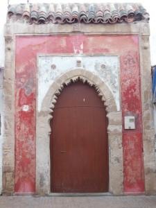 A door in the medina of Essaouira