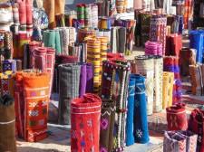 Carpet shop in the souk