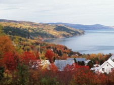 Charlevoix Coast in autumn