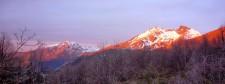 Sunset on Cerro El Morillo (Chile)