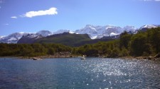 The southern arm of Lake Argentino on the way to Lake Frias (Argentina)