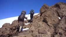 Hiking the Enladriado (Chile)