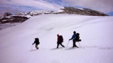 Crossing El Cordon de Guamparo, 2000 m (Chile)