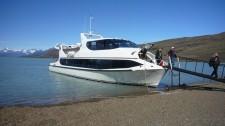 A lake cruiseboat (Argentina)