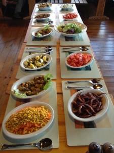 Chilean buffet