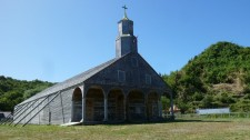 Another example of a church on the island of Chiloé (Chile)