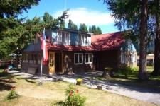 The Cerro Castillo lodge (Chile)
